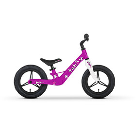 "TABOU Mini Run Magnesium Balance Bike 12"" Kids, purple/pink/white"